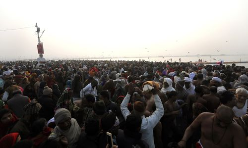 Million will gather in the Indian city of Allahabad over the next 49 days.