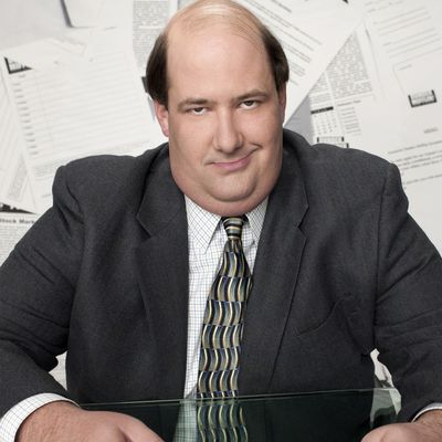 Brian Baumgartner as Kevin Malone: Then