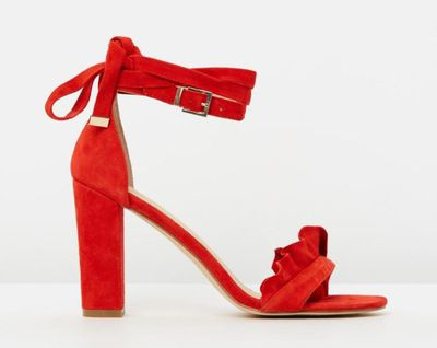 "<a href=""https://www.theiconic.com.au/amalia-499862.html"" target=""_blank"">Amalia By Nude Shoes Sandals, $179.95.</a>"