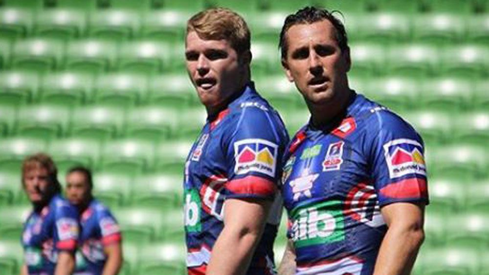 Mitchell Pearce fires in Newcastle Knights' pre-season trial win over Melbourne Storm