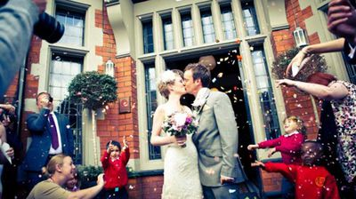 "<p>The couple have been documenting their serial matrimony on the blog <a href=""http://2people1life.com""></a>2people1life since their first wedding, in Didsbury, England in 2011.</p><p></p>"