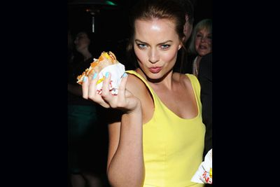 """We all have to start somewhere and for this Aussie starlet, sandwiches were her ticket to her first big role.<br/><br/>Citing a commercial she did for Subway in 2007 as her """"lucky charm"""".<br/><br/>(Image: Getty)"""