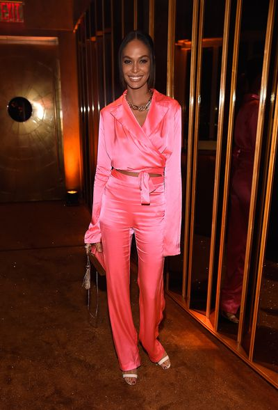 Joan Smalls at V Magazine's Intimate Dinner In Honour of Karl Lagerfeld, October 2017