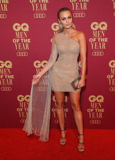 Elyse Knowles at GQ Men of Style Awards, November 2017