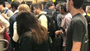 Sydney commuters stranded in train network chaos