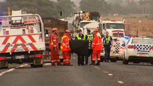 Emergency services were called to the scene just after 6am. (9NEWS)