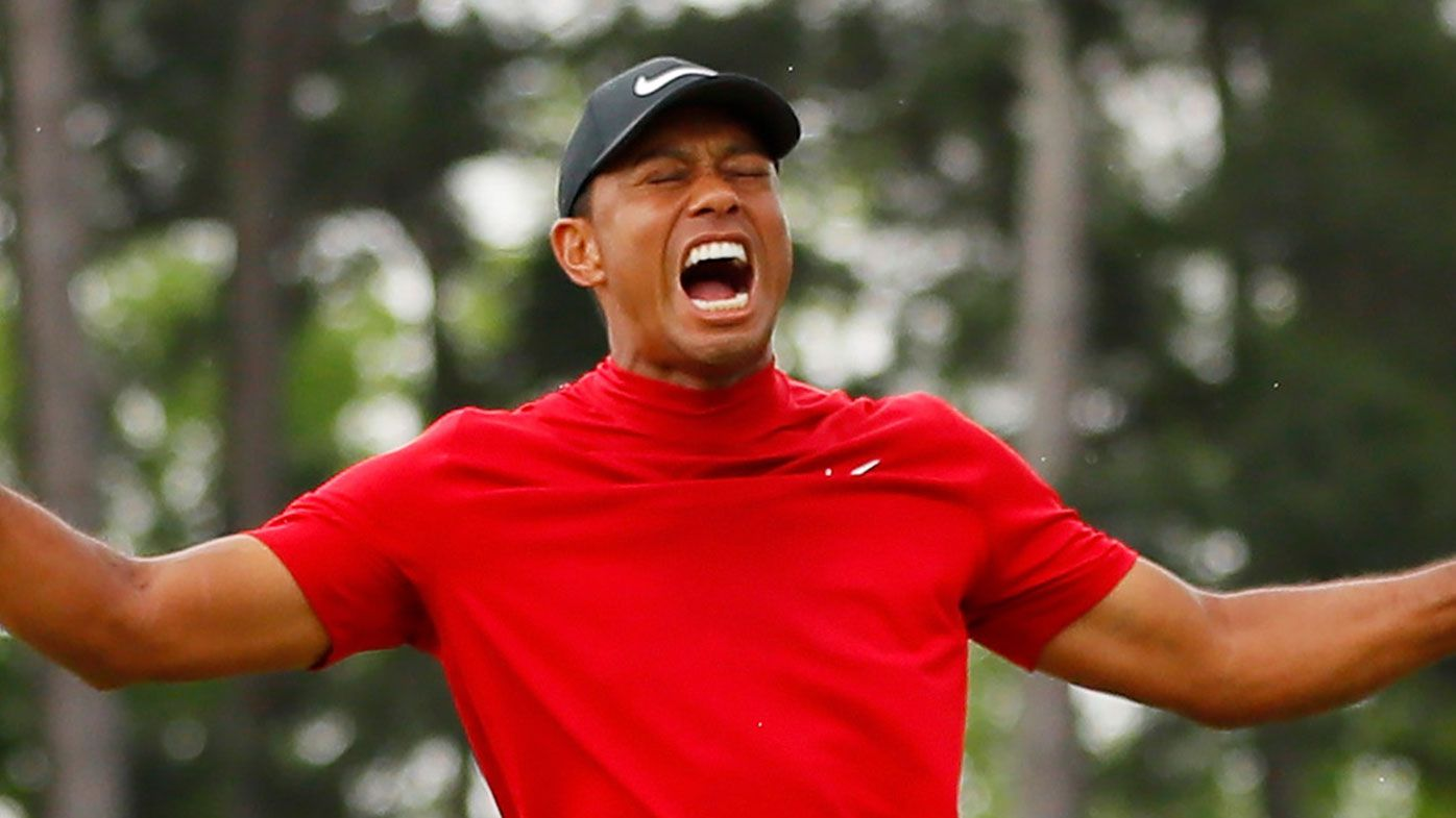 'Choked up' Woods relives Masters win