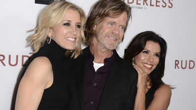 Felicity Huffman, William H. Macy and Eva Longoria in October 2014