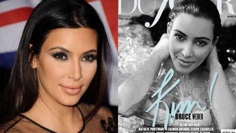 kim kardashian / dujour shoot