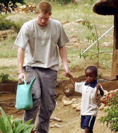 After meeting Mutsu, Prince Harry founded the charity Sentebale to help young people in Lesotho and Botswana affected by HIV. Picture: AAP.