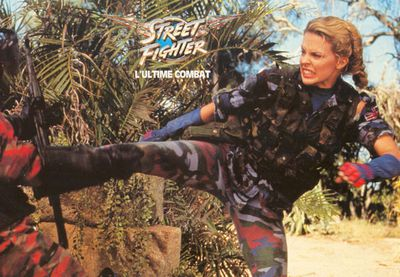 Kylie Minogue plays Cammy in 1994's <i>Streetfighter. </i>
