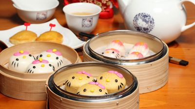 Hello Kitty yum cha, Hello Kitty Chinese Cuisine, Yau Ma Tei