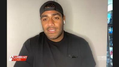 Aussie NFL player Jordan Mailata
