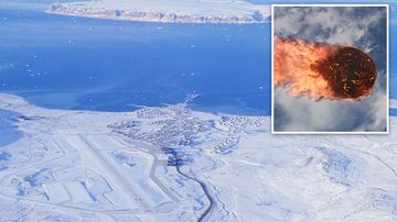 A 2.1 kiloton explosion over a US Air Force base in remote Iceland late last month is believed to be the result of a meteor. Wikipedia/Ann O'nyme/iStock Photo