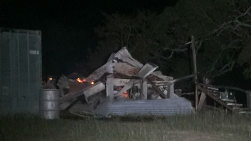 Fire destroys 100-year-old home in Queensland town Biarra