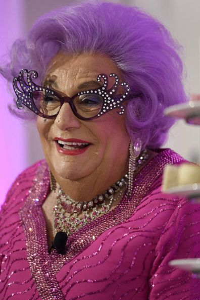 Dame Edna says she's taken Meghan under her wing.