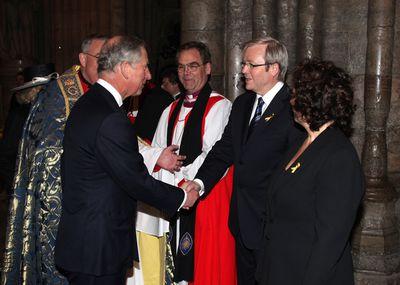 Kevin Rudd & Prince Charles