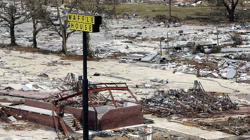 Waffle House restaurants are designed to open quickly after a natural disaster.