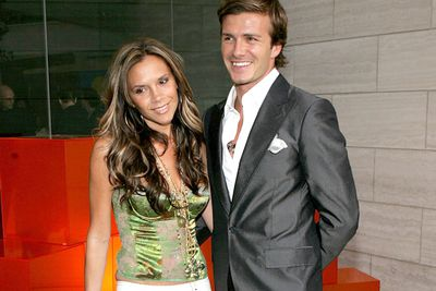 It's a miracle these two have made it really...the footballer and his Spice Girl-cum-WAG-cum-fashion designer wife. They married in 1999 and despite David's alleged affair with nanny Rebecca Loos in 2004, have stayed strong. Posh and Becks have four kids- Brooklyn, Romeo, Cruz and new baby girl, Harper Seven.
