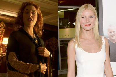 Gwyneth Paltrow as Rose DeWitt in<em> Titanic</em>