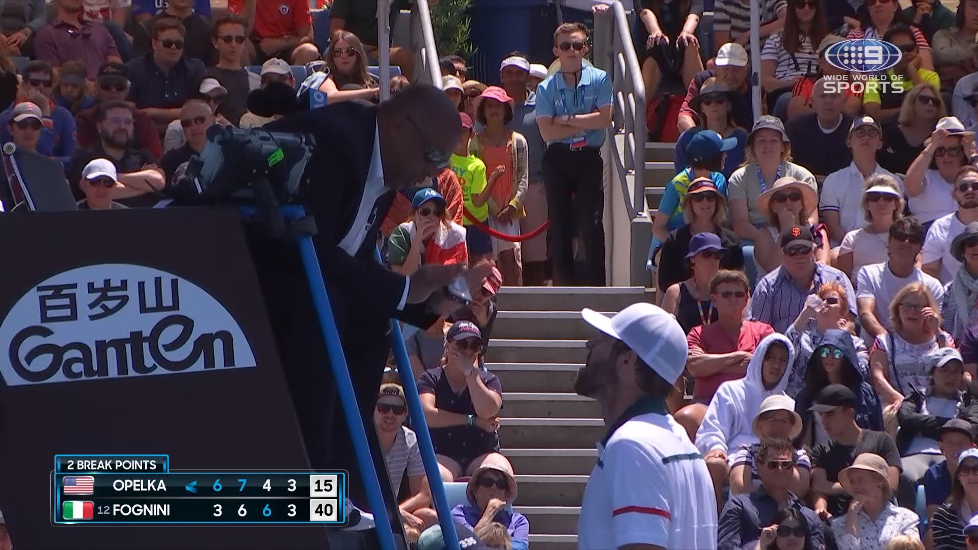 Reilly Opelka Left To Rue Foul Mouthed Tirade At Umpire