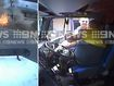 Incredible new look at 'chaotic' truck crash