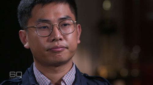 Wang 'William' Liqiang told his story to 60 Minutes.