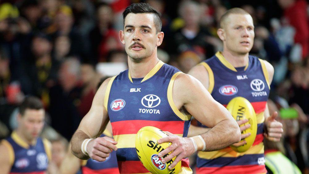 Adelaide skipper Taylor Walker. (AAP)