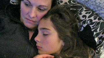 Cassidy Trevan with her mother Linda. (Photo: Linda Trevan/Nine.com.au)