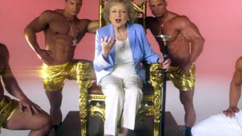Betty White's 'I'm Still Hot' – the video