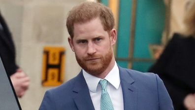 LONDON, ENGLAND - MARCH 09: Prince Harry, Duke of Sussex attends the Commonwealth Day Service 2020 on March 09, 2020 in London, England. (Photo by Neil Mockford/GC Images)