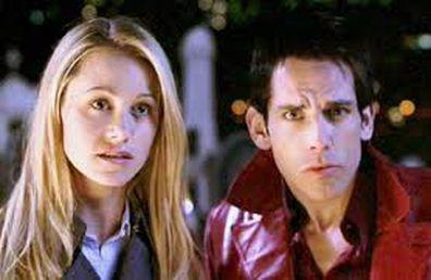 Christine Taylor and Ben Stiller in 2001 comedy film Zoolander