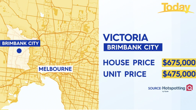 Brimbank City in Victoria is also forecasted to boom.