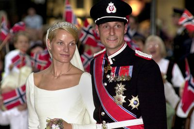 <b>Became royalty in: Norway </b><p>Single mum Mette-Marit was rocking out at a music festival when she met Crown Prince Haakon in 1996.<P>Norwegians frowned upon her hard-partying, drug-taking past, and the future Princess was forced to issue an apology for her wild ways before tying the knot in 2001.