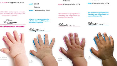 NSW Registry of Births, Deaths and Marriages introduces birth