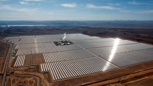 World's largest concentrated solar power plant switched on in Morocco