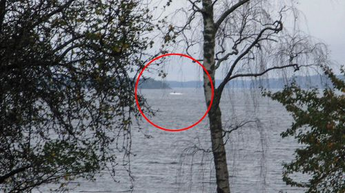 Sweden releases photo of mysterious 'foreign vessel' suspected of being damaged Russian submarine