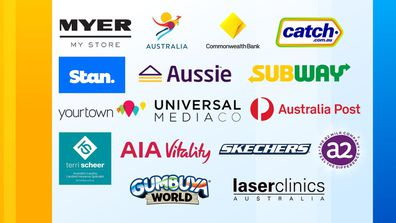 The Today Show has commercial agreements in the week commencing 30 November with the following companies.