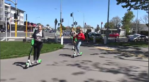 Lime scooters tout themselves as a solution to Melbourne's worsening congestion.