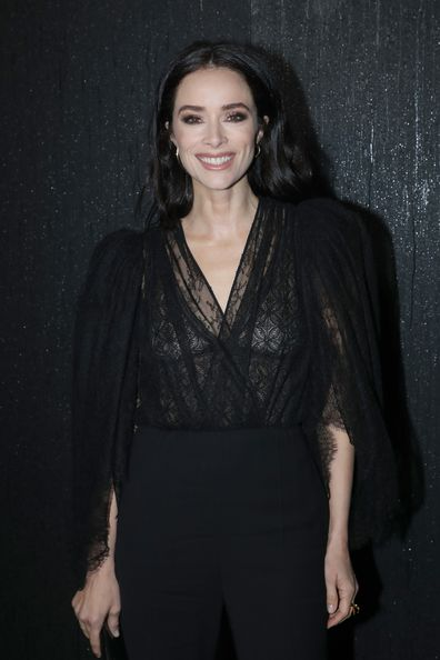 Abigail Spencer attends the Givenchy show as part of the Paris Fashion Week Womenswear Fall/Winter 2020/2021 on March 01, 2020 in Paris, France.