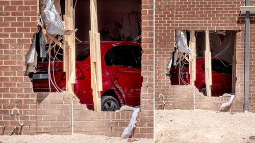 None of the home's occupants were injured. (Image: AAP)