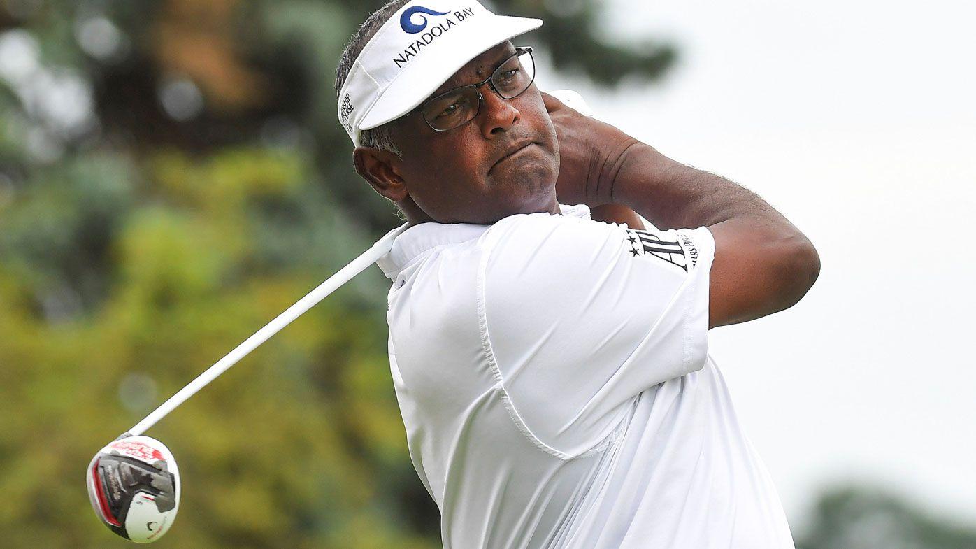Golf veteran Vijay Singh