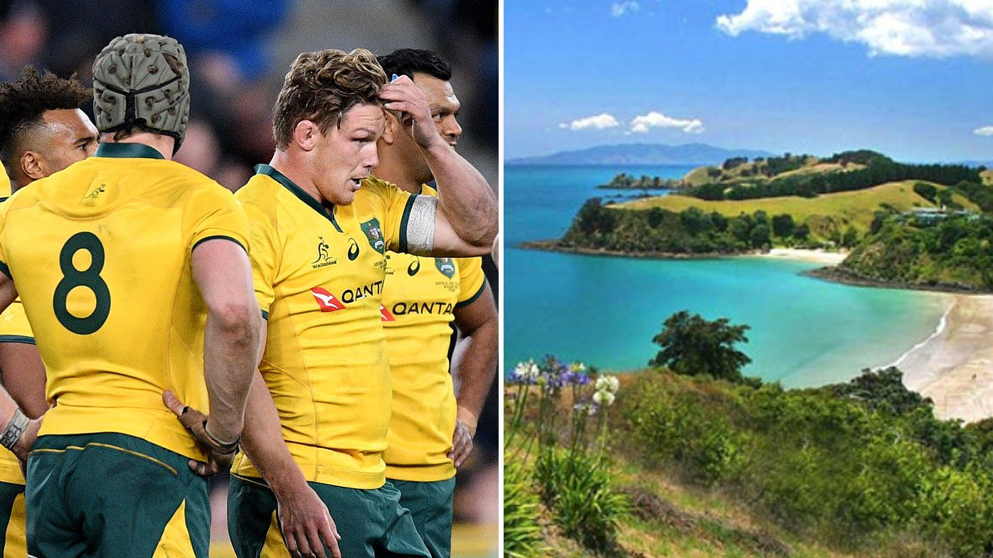 Wounded Wallabies head for Waiheke Island to prepare for Bledisloe Cup return bout