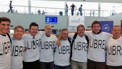 Five Argentinian men celebrating the anniversary of their high school graduation are among the eight people killed in the attack. (AP)