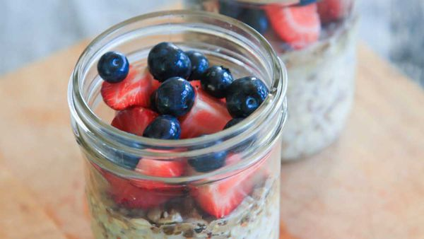 Overnight breakfast grains recipe