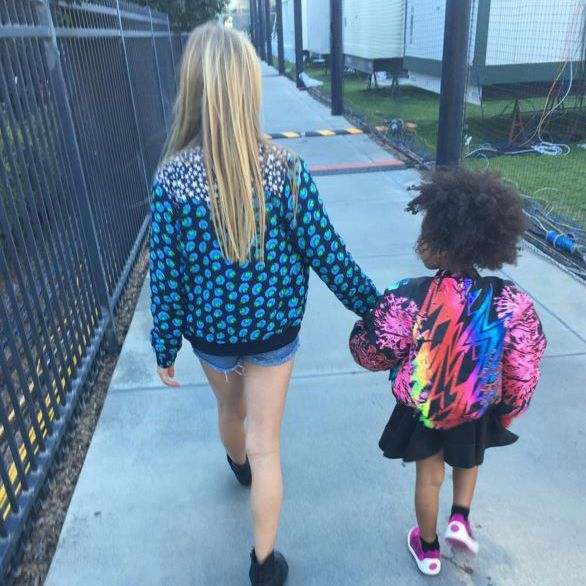 Meet your new style icons, Apple Martin and Blue Ivy