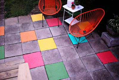 <strong>Play around with your patio</strong>