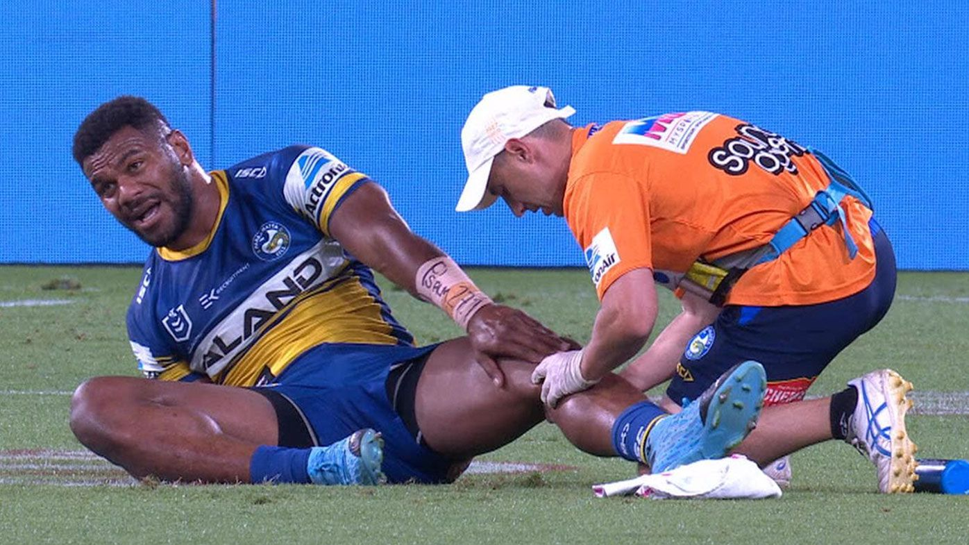 Brad Arthur confirms Maika Sivo's season over after suffering suspected MCL injury