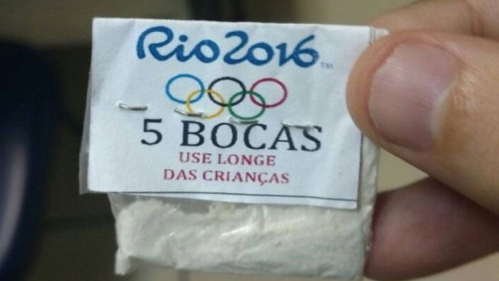 "The bags of cocaine warned people to ""use away from children"". (Supplied)"