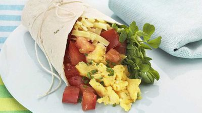 <strong>Breakfast burrito</strong>